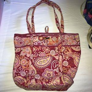 Pink Vera Bradley Tote Bag